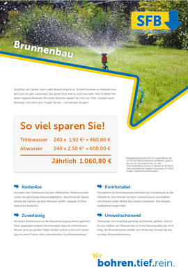 Bohrbrunnen Fischer Bohrtechnik